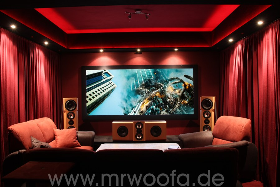 mein neues heimkino viel rot tl sub mkii und 3d. Black Bedroom Furniture Sets. Home Design Ideas