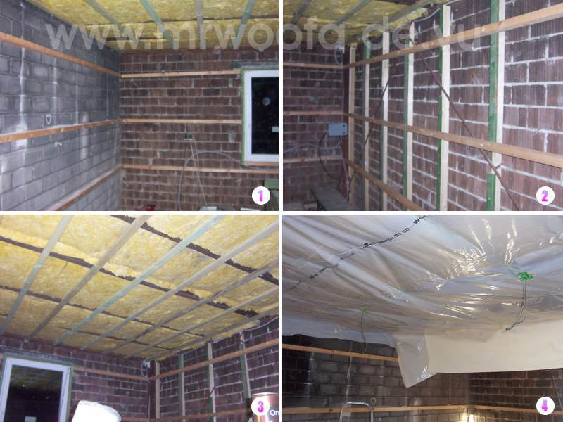 Hervorragend Wände mit gipskartonplatten verkleiden DY44